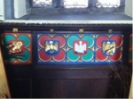 Actual Quatrefoil Art from the Cathedral of St. Nicholas in Galway, Ireland